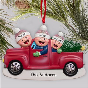 Christmas Ornament | Personalized Truck Ornament