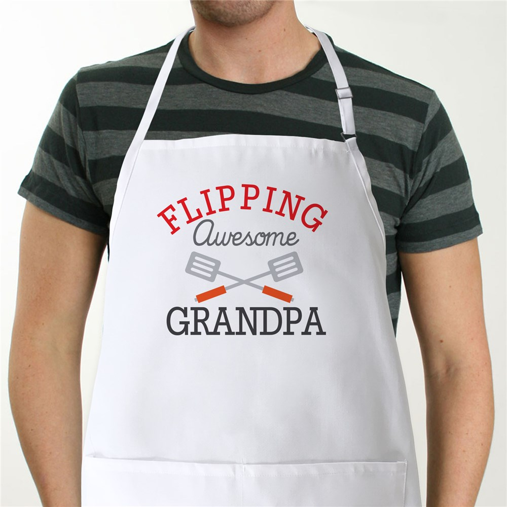 Personalized Flipping Awesome Apron | Custom Aprons
