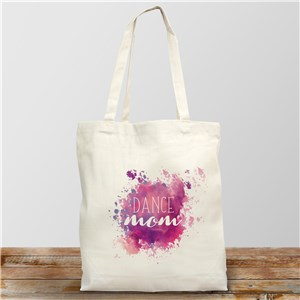 Personalized Dance Mom Tote Bag | Personalized Mom Totes