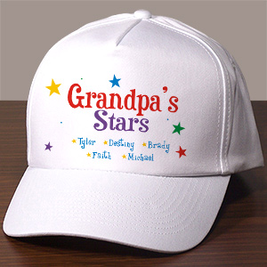 Personalized Stars Hat