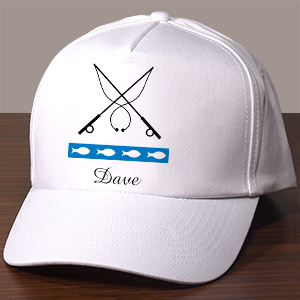 Gone Fishing Personalized Hat | Personalized Fishing Gifts