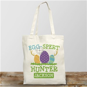 Personalized Gifts for Easter | Egg Hunting Bags