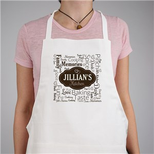 Personalized Label Word Art Apron 8143777