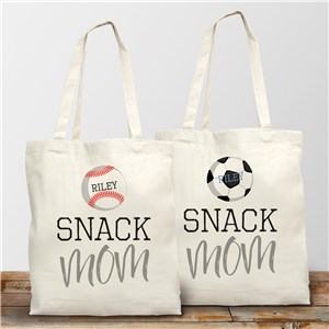 Snack Mom Tote | Personalized Gifts For Mom