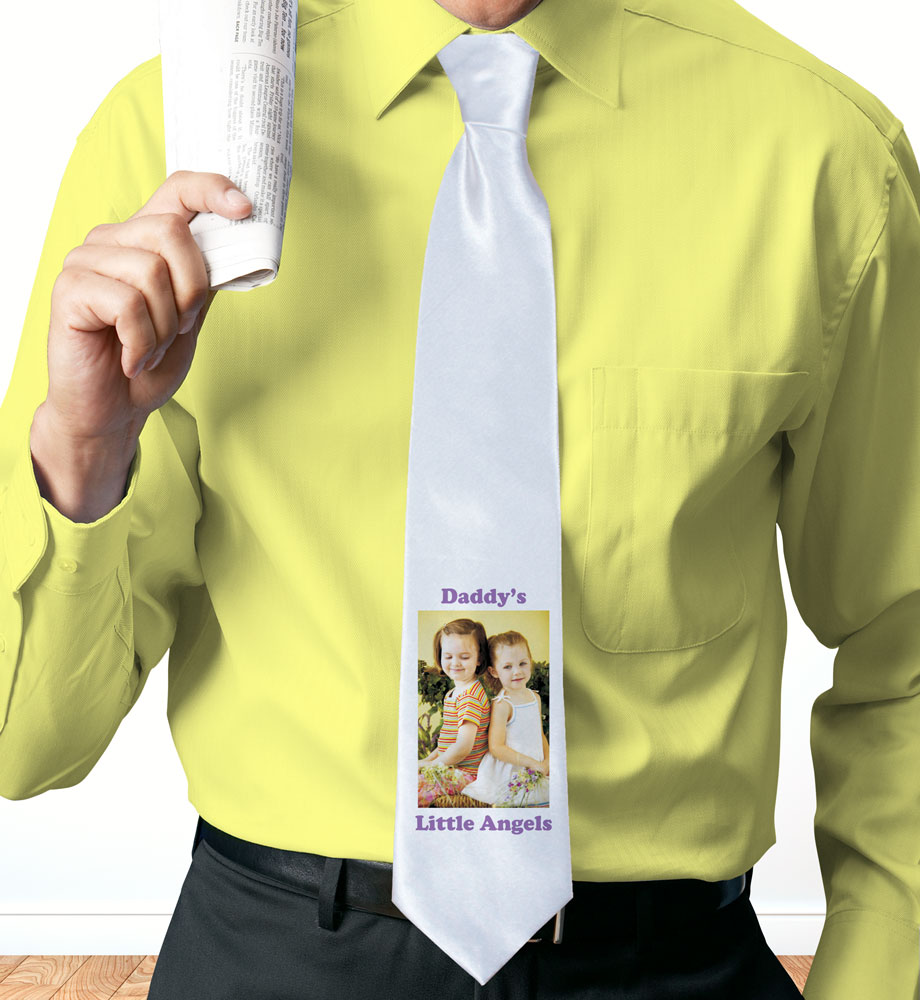 Picture Perfect Personalized Photo Neck Tie | Personalized Photo Gifts