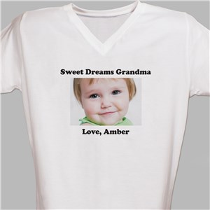 Picture Perfect Personalized Photo Nightshirt | Personalized Photo Gifts