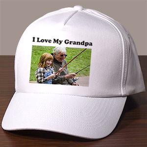 Picture Perfect Personalized Photo Hat | Personalized Photo Gifts