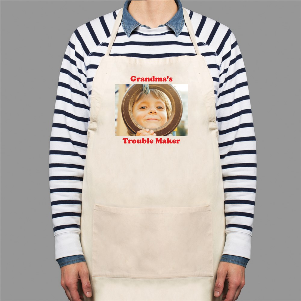 Picture Perfect Personalized Photo Apron | Personalized Gifts for Mom
