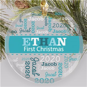Personalized Baby Ornaments | Customized New Baby Christmas Ornament