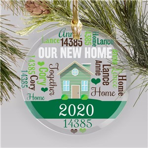 ersonalized New Home Ornaments | Our New House Ornament