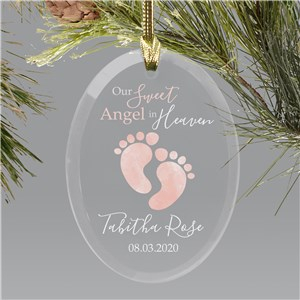 Baby Loss Memorial Ornament | Angel Baby Ornament