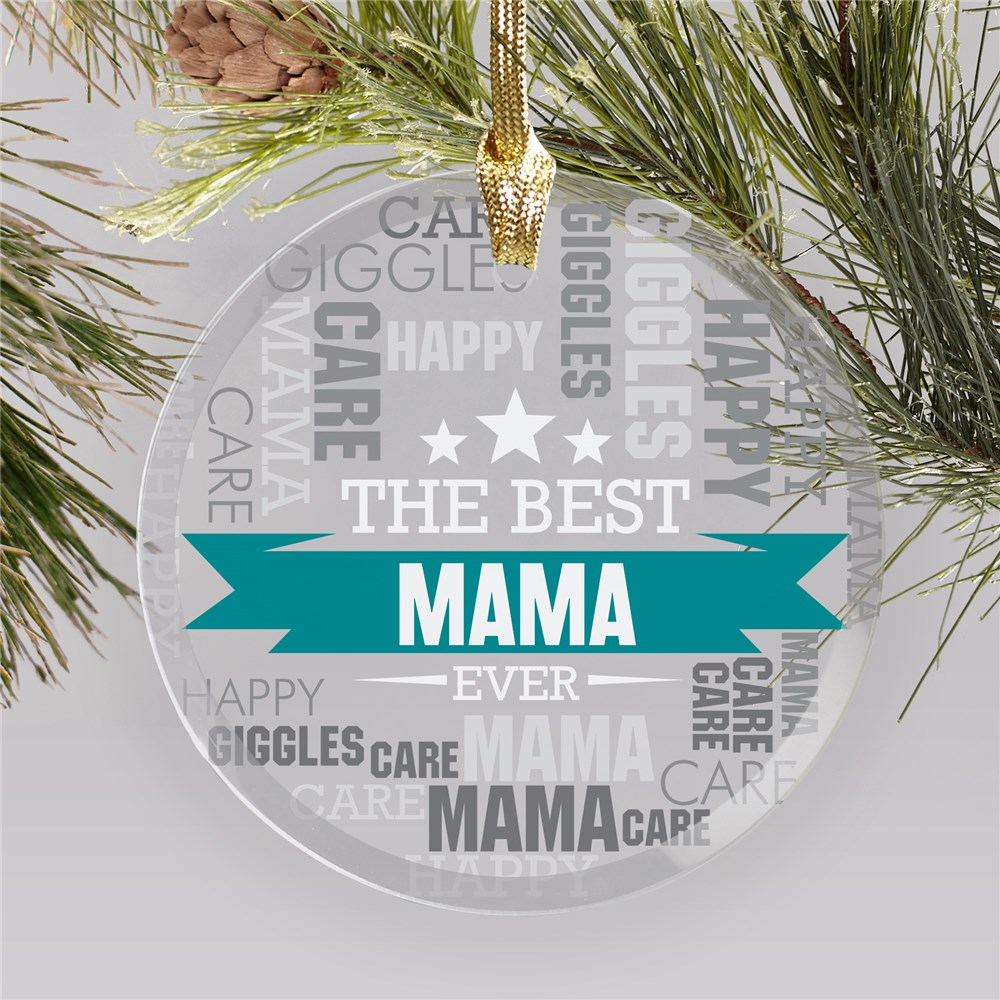 Personalized Ornaments For Mamas | Ornaments from Kids to Mom