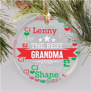 Personalized Ornaments For Grandma | Creative Gifts For Grandma