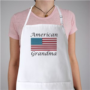 American Flag Personalized Apron | Personalized Aprons