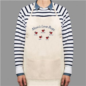 Love Bugs Personalized Apron | Personalized Aprons