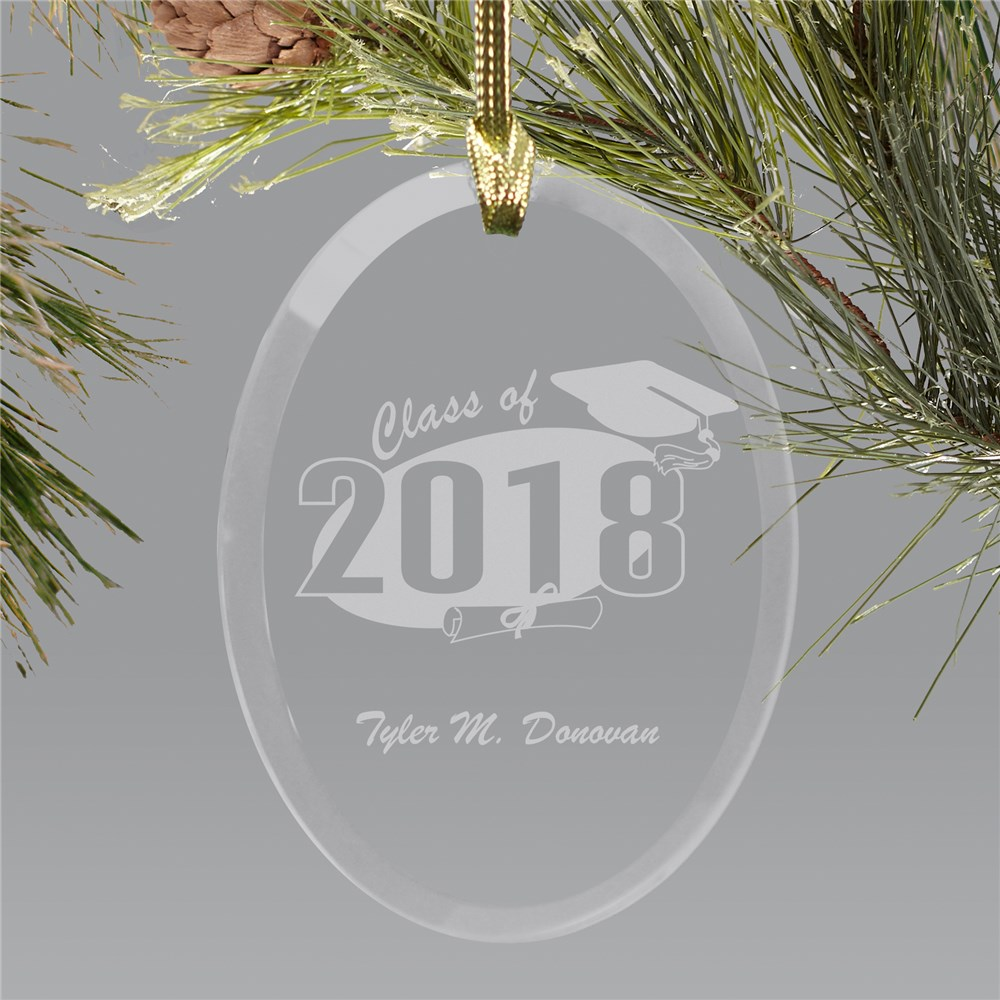 Personalized Graduation Ornament | 2018 Graduate Gifts
