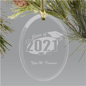 Personalized Graduation Ornament | 2019 Graduate Gifts