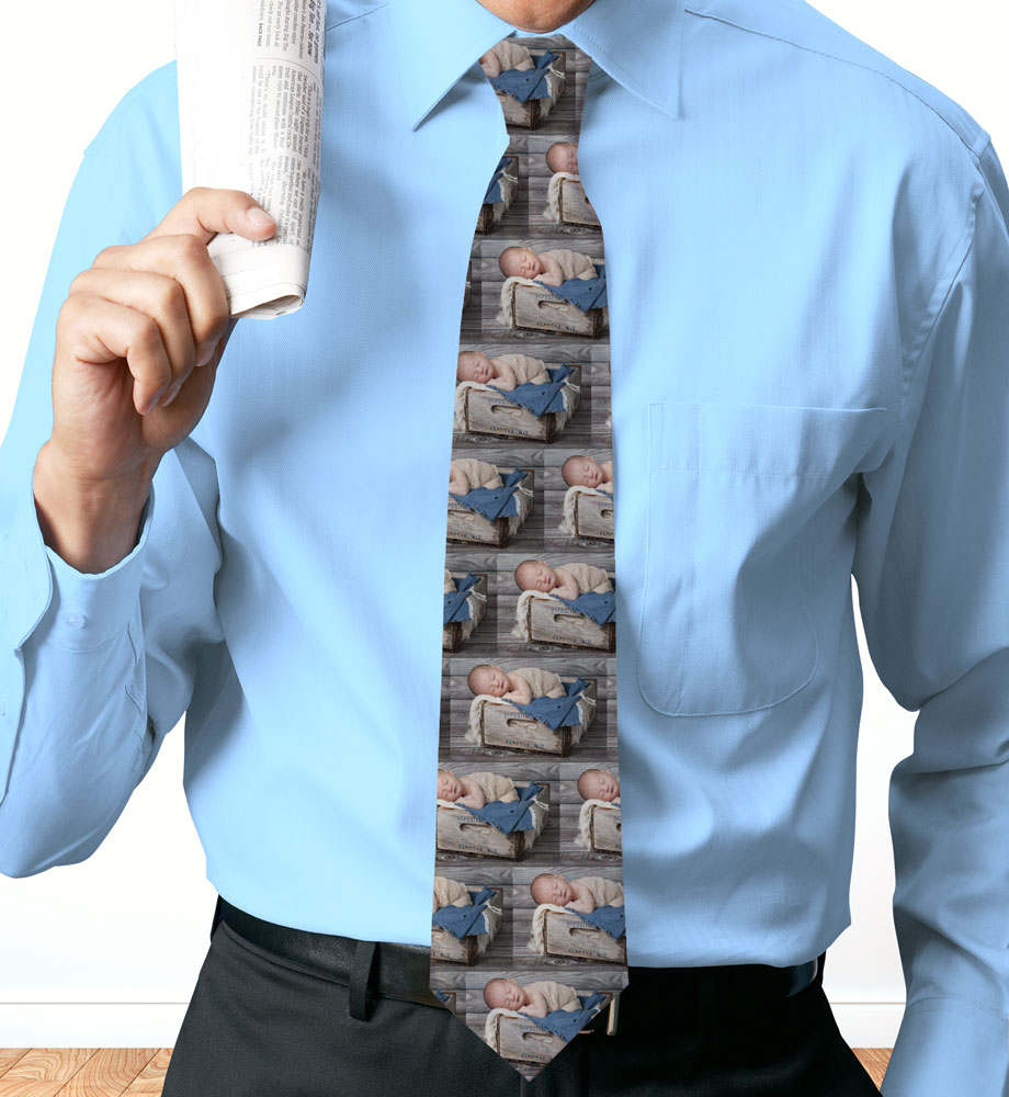 Picture Perfect Collage Personalized Photo Neck Tie | Personalized Photo Gifts