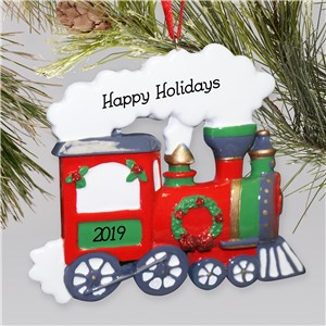 Personalized Train Ornament | Train Ornament