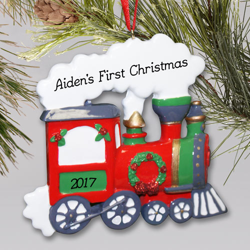 Christmas Train | Personalized Ornament | Personalized Christmas Ornaments For Kids