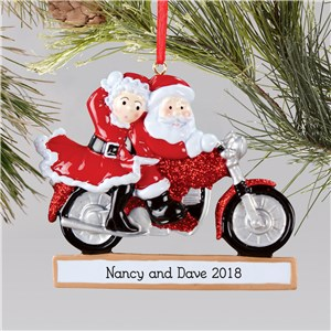 Santa and Mrs. Claus Couples Ornament | Couples Ornaments