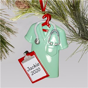 Lab Coat Ornament | Personalized Medical Ornaments
