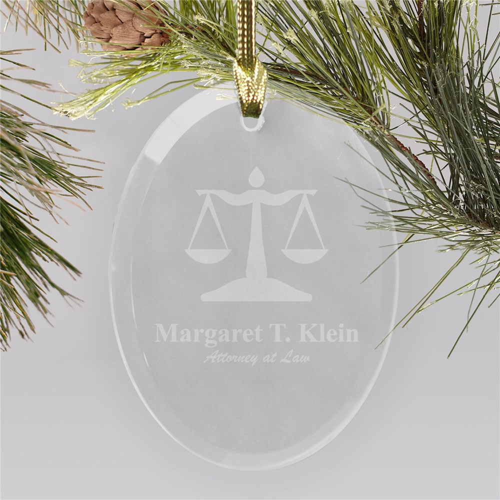 Lawyer Ornaments | Personalized Christmas Ornaments For Lawyers