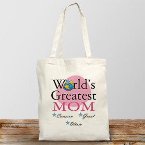 World's Greatest Personalized Tote Bag 827832