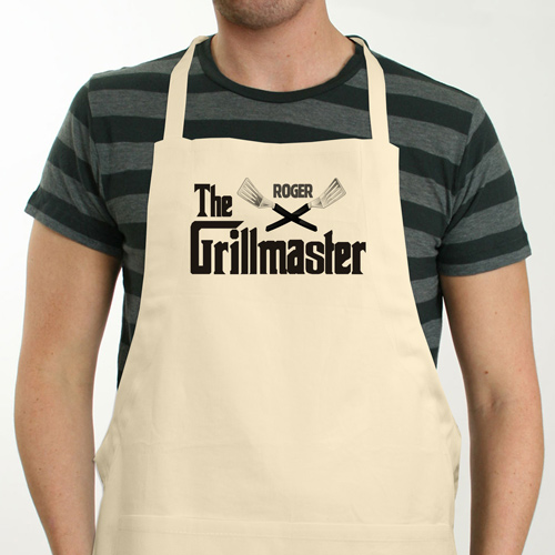 Personalized Grillmaster BBQ Apron | Personalized Apron
