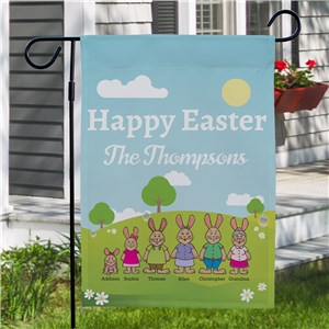 Personanlized Easter Garden Flag |Easter Gifts For Adults