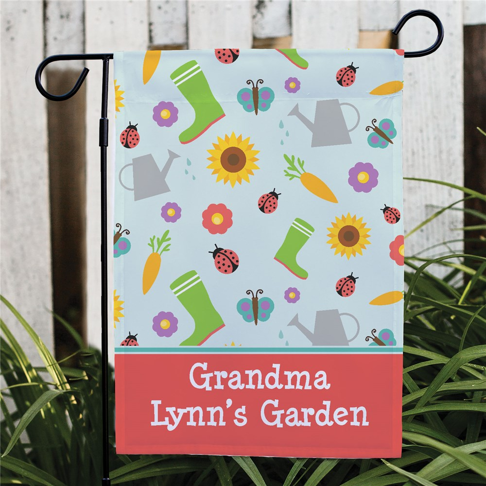 Personalized Gardening Flag | Personalized Gifts for Grandma