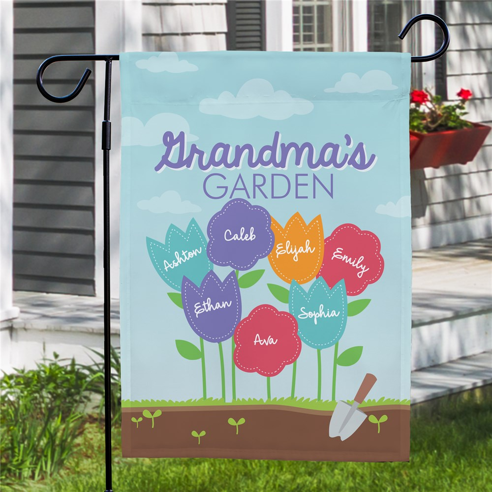 Personalized Gifts for Grandma | Spring Flags