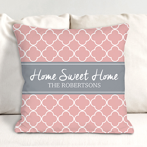 Personalized Spring Throw Pillow | Personalized Housewarming Gifts