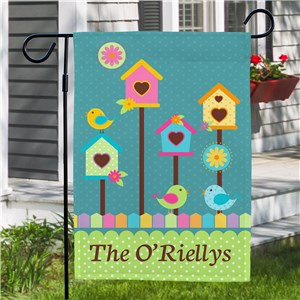 Spring Garden Flag |Personalized Garden Flags