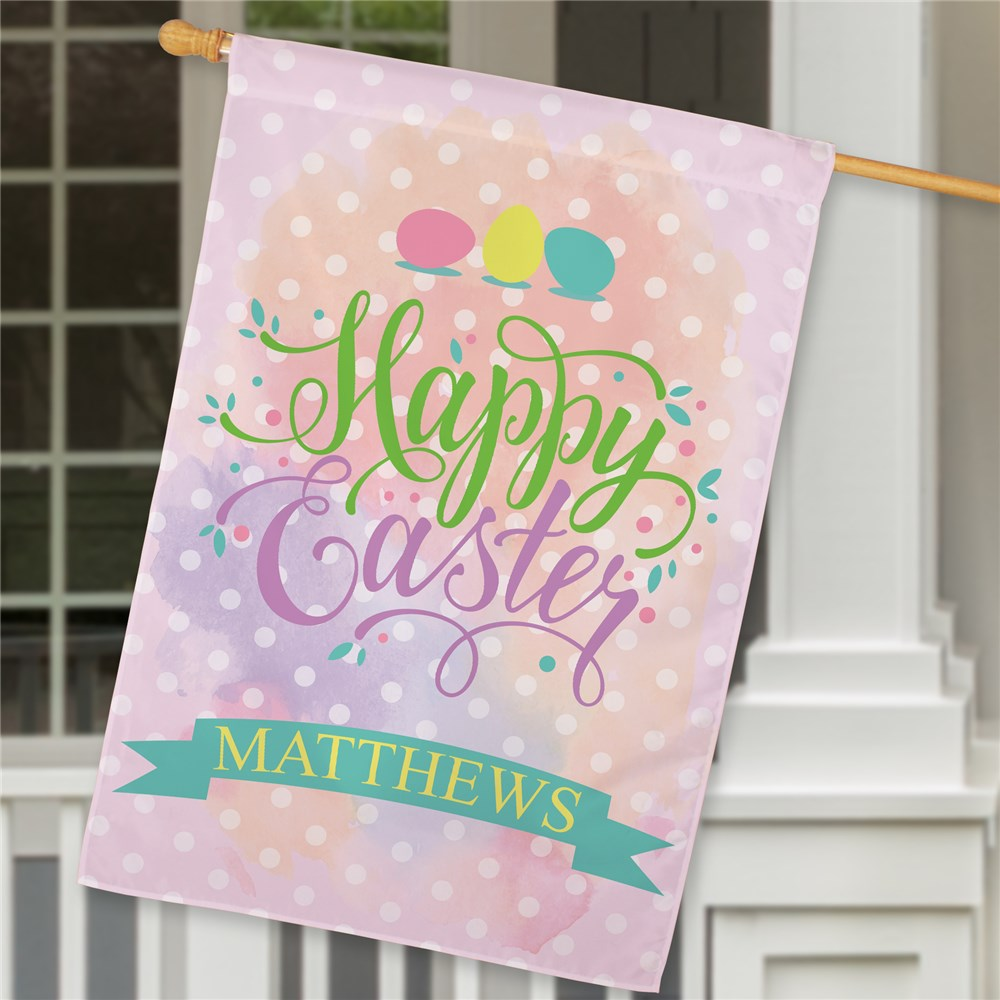 Personalized Easter Flags | Personalized Easter House Flag