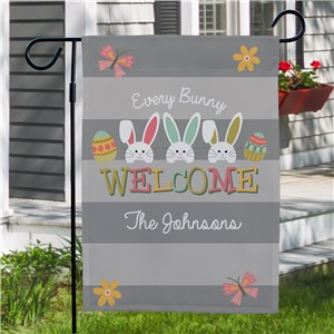 Easter Lawn Flag |Personalized Spring House Flags
