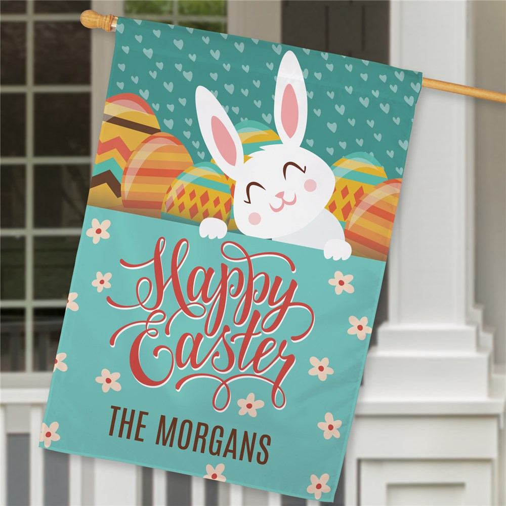 Easter Flags | Personalized Easter Flag)