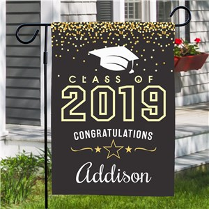 Personalized Class of Garden Flag