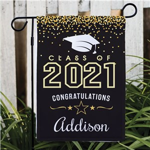 Personalized Class of Garden Flag | Personalized Graduation Flag