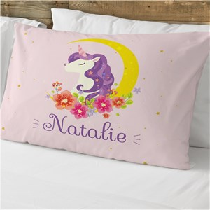 Personalized Unicorn Pillowcase | Personalized Pillowcases For Kids