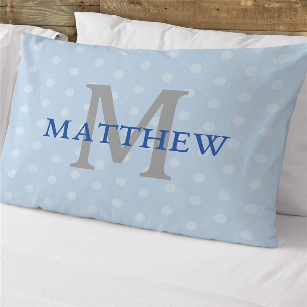 Personalized Initial Pillowcase | Personalized Pillowcases For Kids