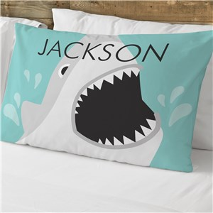Personalized Shark Pillowcase | Personalized Pillowcase For Kids