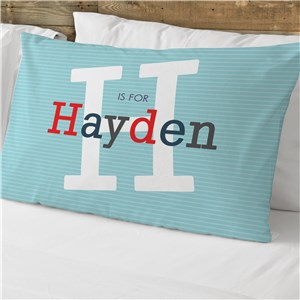 Personalized Initial and Name Pillowcase 83012965
