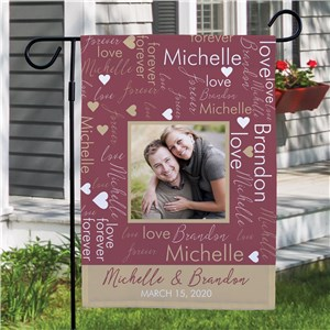 Photo Gifts | Valentine's Day Garden Flag