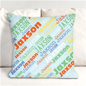 Personalized Throw Pillow | Kids Throw Pillows