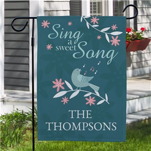 Spring Garden Flag | Personalized Garden Flag