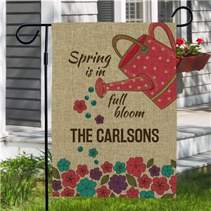 Personalized Garden Flags | Outdoor Spring Decor