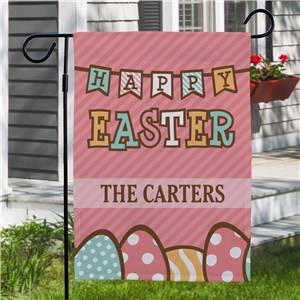 Personalized Easter Flags | Easter Eggs Garden Flags