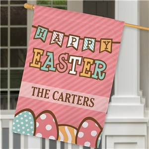 Easter House Flags | Personalized Easter Decor