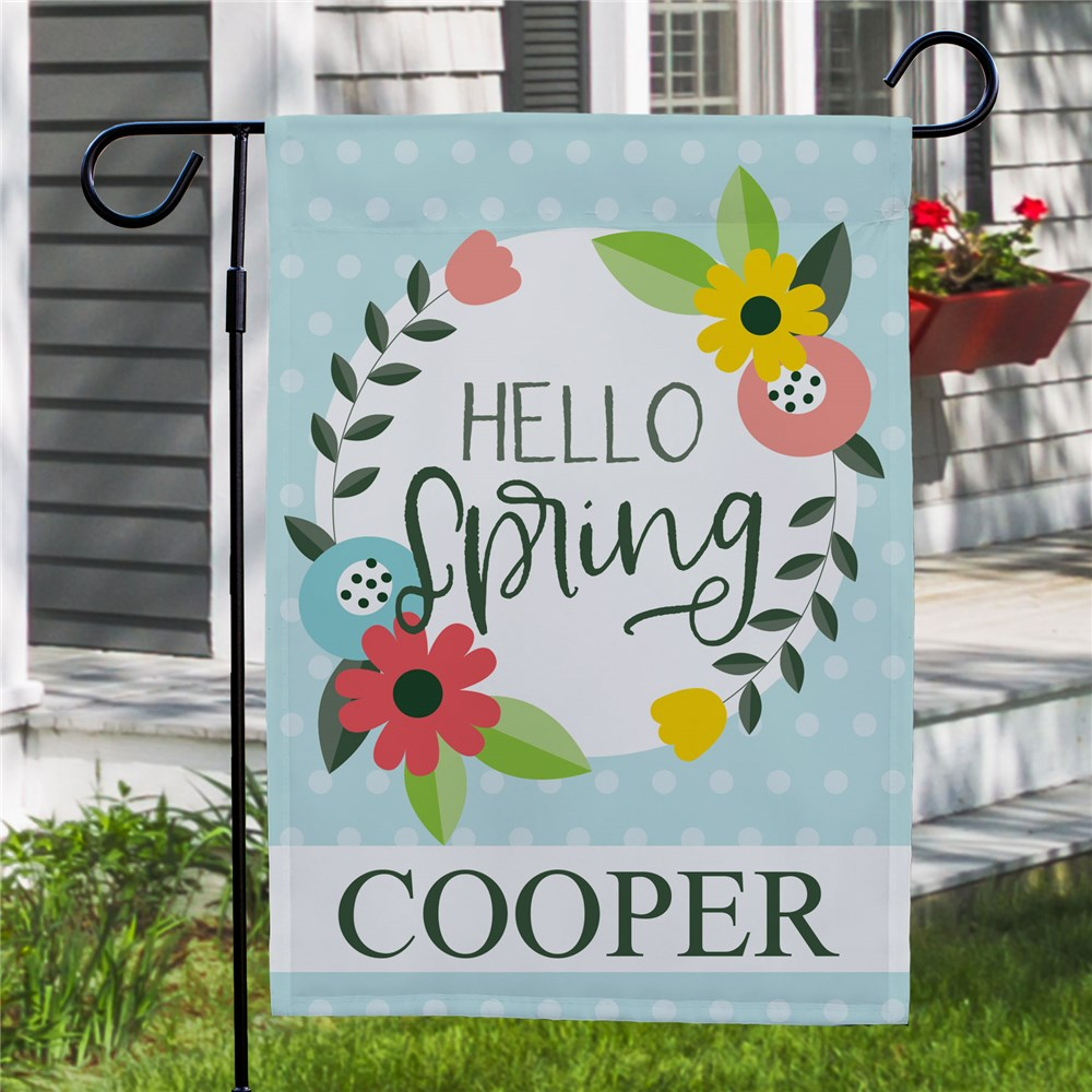 Personalized Spring Flags | Modern Garden Flags